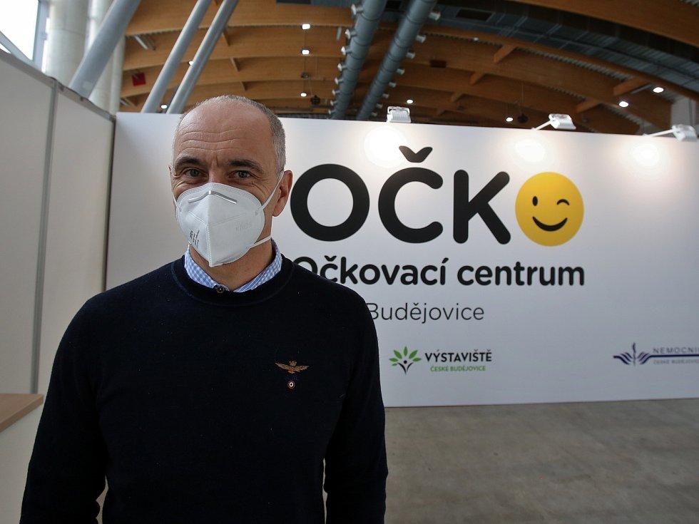 V Českých Budějovicích se bude od čtvrtka 21.1.2021 očkovat na výstavišti v očkovacím centru Očko, které vzniklo v pavilonu T1.