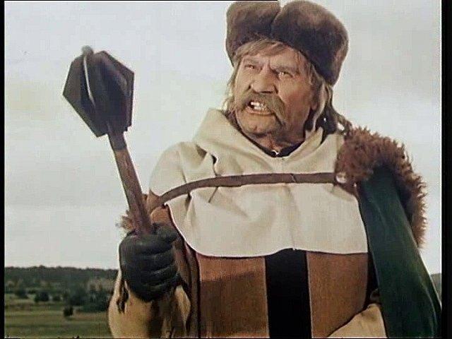 Gustav Hilmar jako pán z Hvozdna. Přidal se k husitům.
