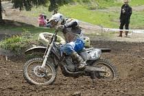 Martin Finěk pojede v sobotu motokros v Jiníně.