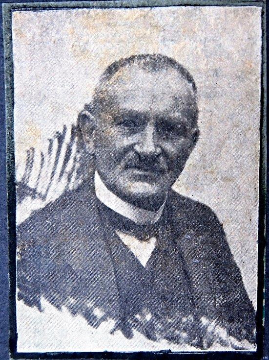 1. předseda spolku J. K.Tyl Václav Reitmayer (1864 - 1925)
