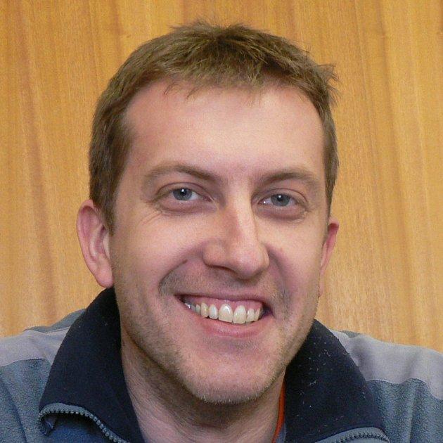 Jiří Leffler, předseda hokejbalistů HBC Prachatice.
