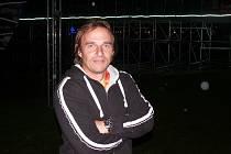 Pavel Buráň v parku Rio Lipno