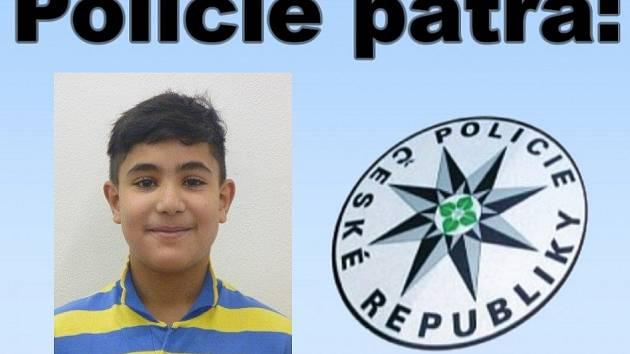 Čtrnáctiletý Patrik Slivka opakovaně utekl z dětského domova. Policie po něm pátrá.