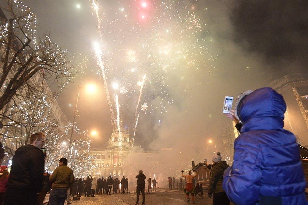 Silvestrovské oslavy. Ilustrační foto
