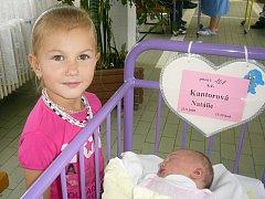 Natálie Kantorová, Žabovřesky, 23.9.2009, ve 13.19 h, 3,3 kg.