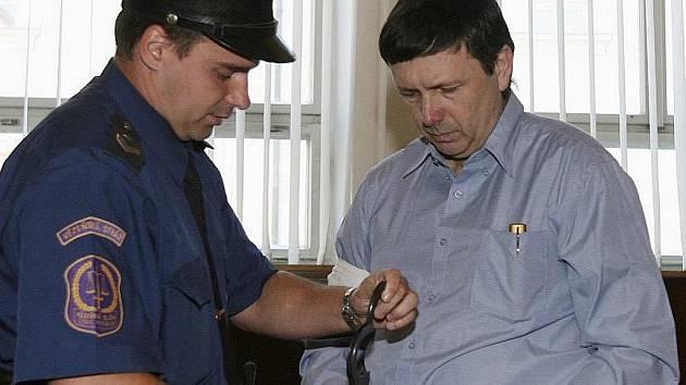 Jan Čermák si znovu vyslechl rozsudek - výjimečný trest.