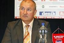 Předseda občanského sdružení HC České Budějovice Zdeněk Blažek.