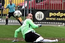 Zdeněk Křížek dostal v zápase Dynama s Olomoucí pět gólů.