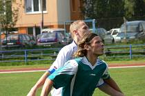 Tomáš Brozman přispěl k debaklu Loučovic ve Čtyřech Dvorech dvěma góly.