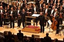 Brucknerův orchestr v New Yorku.