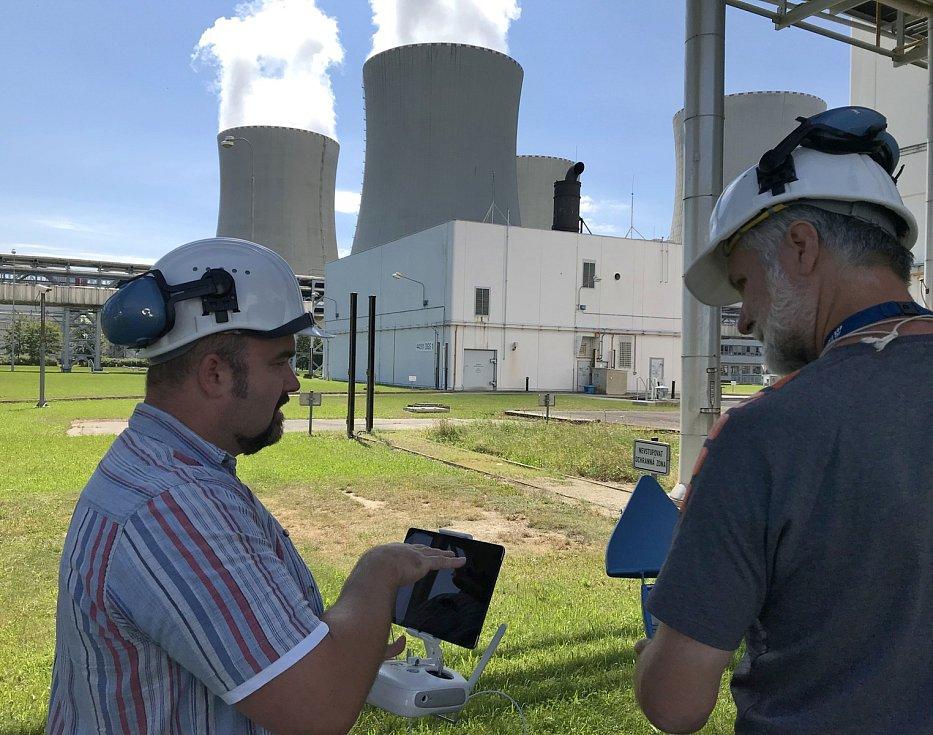 """Laserový detekční systém, který chrání střechy vybraných budov proti hrozbám """"ze vzduchu"""", otestovala Policie ČR a společnost ČEZ v Jaderné elektrárně Temelín."""