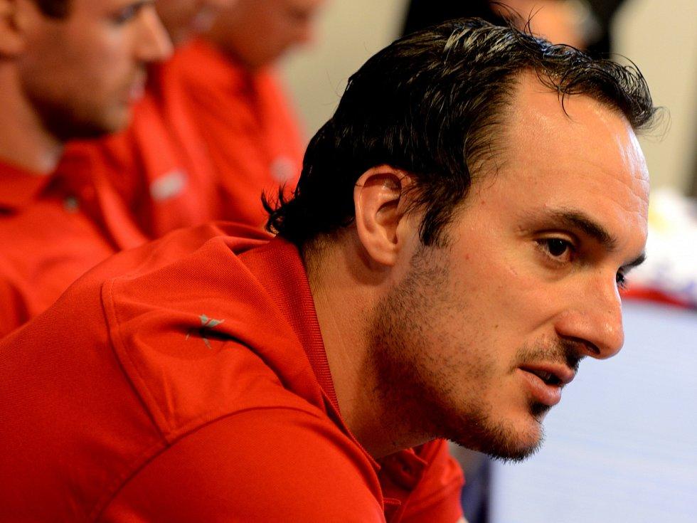 Aleš Kotalík dal proti Havířovu jediný gól svého týmu.