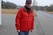Trenér CT Tábor Stanislav Bambula