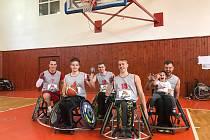 Tigers na vozíku hledají nové kamarády pod basketbalové koše