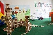 Anifilm, mezinárodní festival animovaných filmů, nabízí v Třeboni do 8. května 405 snímků z celého světa. Na snímku dětský koutek.
