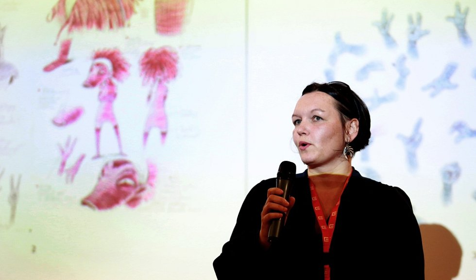 Galina Miklínová představila na třeboňském Anifilmu ukázky z rodícího se filmu Lichožrouti podle stejnojmenného knižního bestselleru.