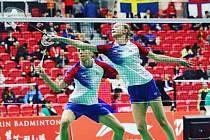 Badmintonisté Sokola České Budějovice  zazářili doma i v zahraničí