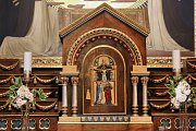 Petrinský kostel Panny Maria Růžencové se otvírá veřejnosti. Zájemci o prohlídku si můžou užívat dosud skrytou barevnou krásu kostela vždy v celou hodinu od 9 do 17 hodin.