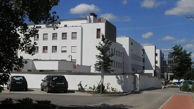 Nemocnice České Budějovice.