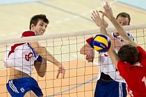Nahrávač reprezentace ČR (a Jihostroje) Filip Habr si také rád zaútočí