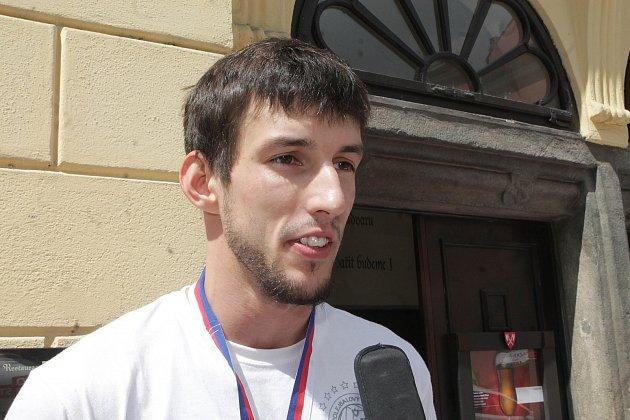Nahrávač a kapitán Jihostroje Filip Habr