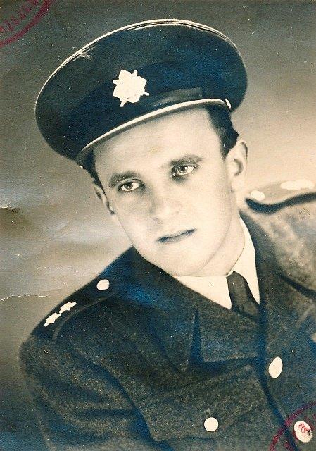 Josef Hasil zvaný Král Šumavy na snímku z mládí.