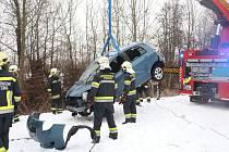 Jedna z mnoha nehod - u Hörschingu.