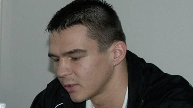 Michal Vodárek přivezl z Chemnitz do Č. Budějovic stříbrnou medaili.