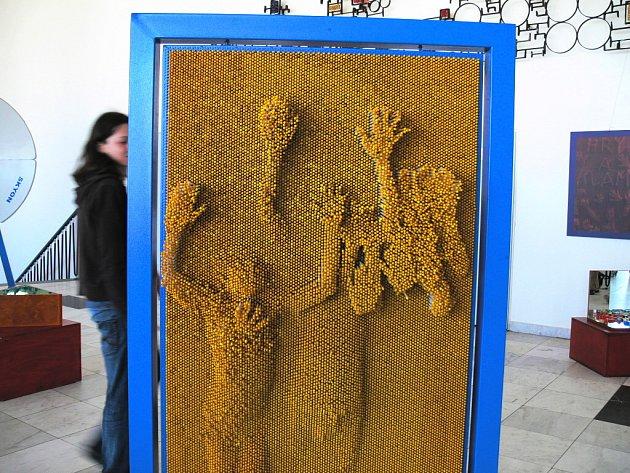 Na Svátek práce do Českých Budějovic dorazila část výstavy Hry a klamy z libereckého IQ Parku.