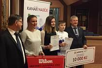 Tenisové talenty na jihu Čech