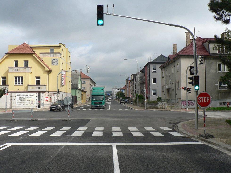 Rekonstruovaná Mánesova ulice v Českých Budějovicích otevře pro provoz automobilů v noci z 19. na 20. září 2019.