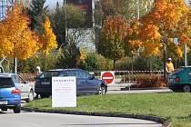 U Tesca se během výstavy bude platit parkovné.