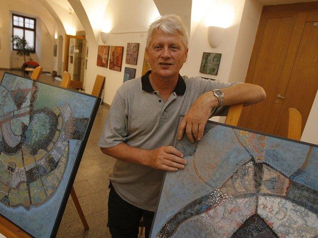 Josef Bruckmüller ve středu osobně zahájí svoji  novou výstavu.