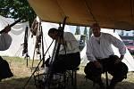 Obec Záblatí u Dřítně na Českobudějovicku se v sobotu přenesla o čtyři sta let zpátky - do bitvy U Záblatí. Návštěvníci takto uctili památku padlých.