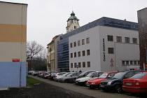 Dnešní budova rozhlasu v českobudějovické ulici U Tří lvů.