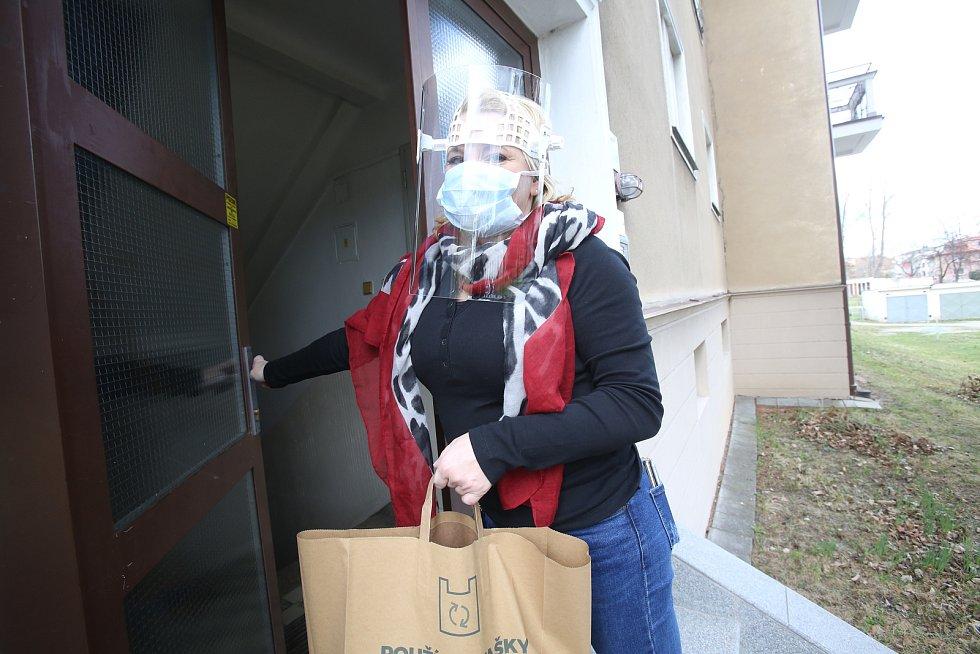 Nadační fond Jihočeské naděje pomáhá seniorům a vozí jim nákup domů.