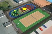 Takhle bude vypadat multifunkční hřiště na Pedagogu.