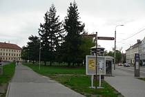Mariánské náměstí v Českých Budějovicích.