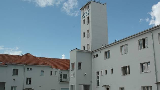 Hlavní sídlo českobudějovických strážníků v ulici J. Haška. Foto: archiv městské policie