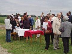 V sobotu se poprvé sešli rodáci a přátelé obce Krakovčice na Vltavotýnsku