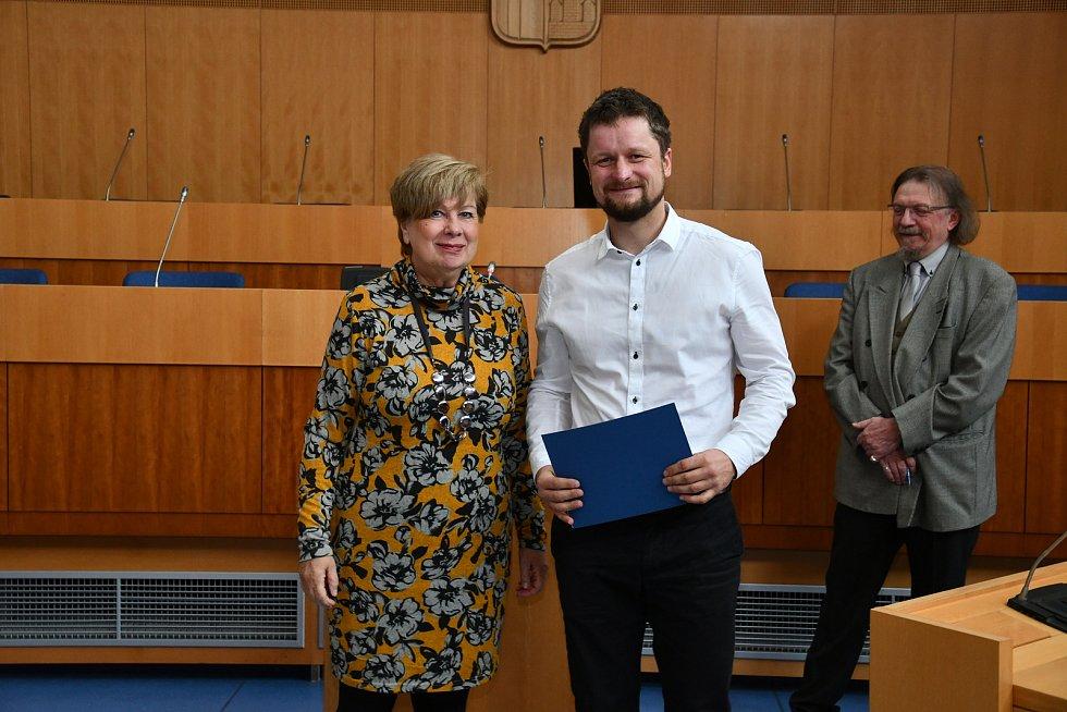 Ocenění spokojený zákazník předávala na krajském úřadu podnikatelům jihočeská hejtmanka Mgr. Ivana Stráská.
