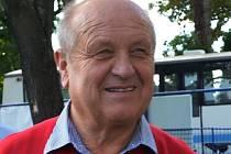 Předseda TJ Hluboká Karel Vácha