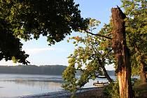 Kolem Vrbenských rybníků lze vyrazit na příjemnou procházku.