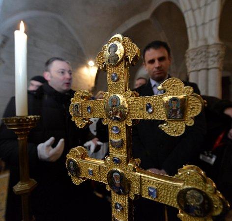 Zemská výstava, Závišův kříž vcisterciáckém klášteře Vyšší Brod.