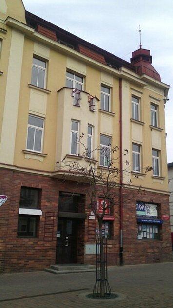 Budoucí sídlo Městské policie vČeských Budějovicích na Lannově třídě.