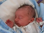 Bezmála čtyřletá Michalka už doma v Týně nad Vltavou netrpělivě vyhlíží brášku Lukáše Rosola. 3,5 kg vážící Lukášek se narodil ve středu 13.6.2012 v 10 hodin a 43 minut.