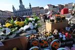 Švestkový trh v Českých Budějovicích