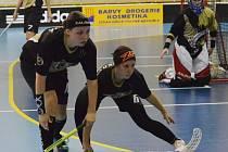 Zdeňka Janoušková (vpravo) tvoří obranný blok s Barborou Skálovou