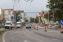 Senovážné náměstí prochází stavebními úpravami