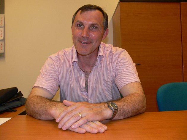 Manažer mládeže HC ČB Jaroslav Liška